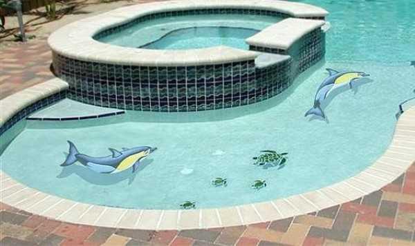 มาแชร์5ไอเดียเลือกลายกระเบื้องสระว่ายน้ำสวยๆเอาไว้ตกแต่งกัน  กระเบื้องสวย ราคาส่ง ขายถูก